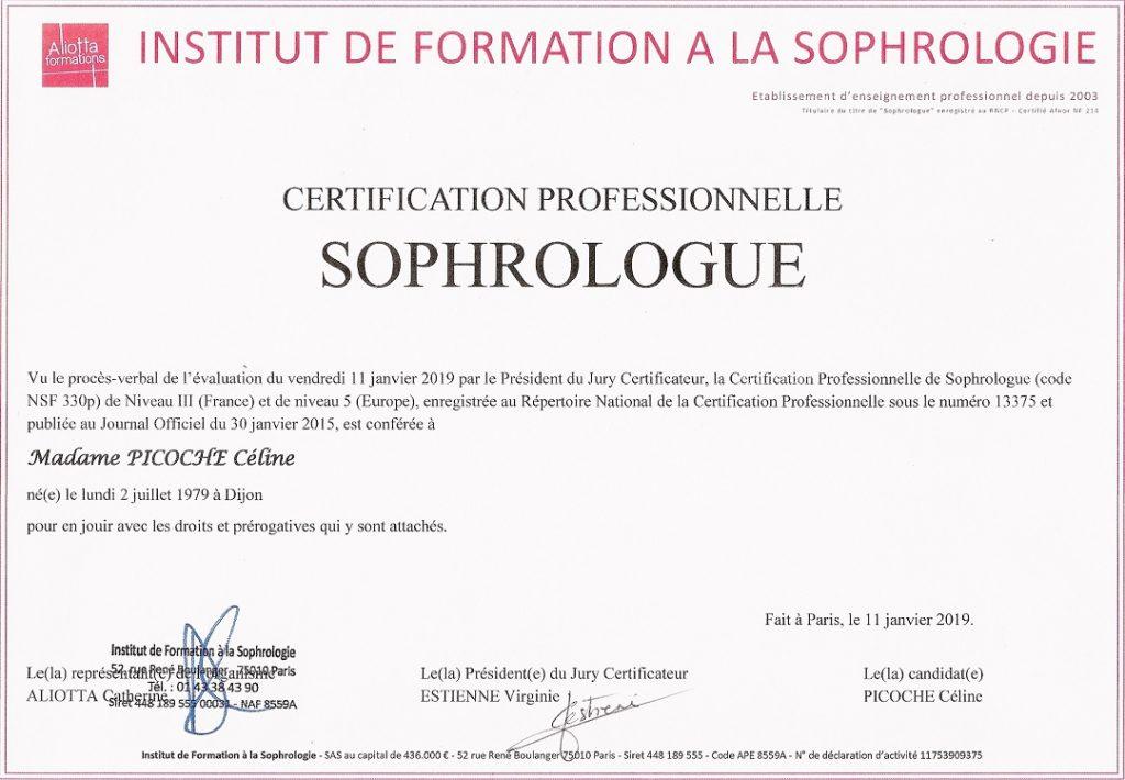 diplome sophrologie
